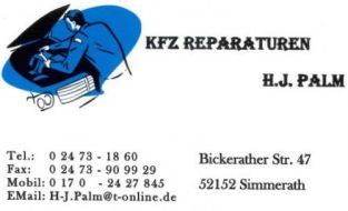 KFZ Reparaturen Hermann Josef Palm